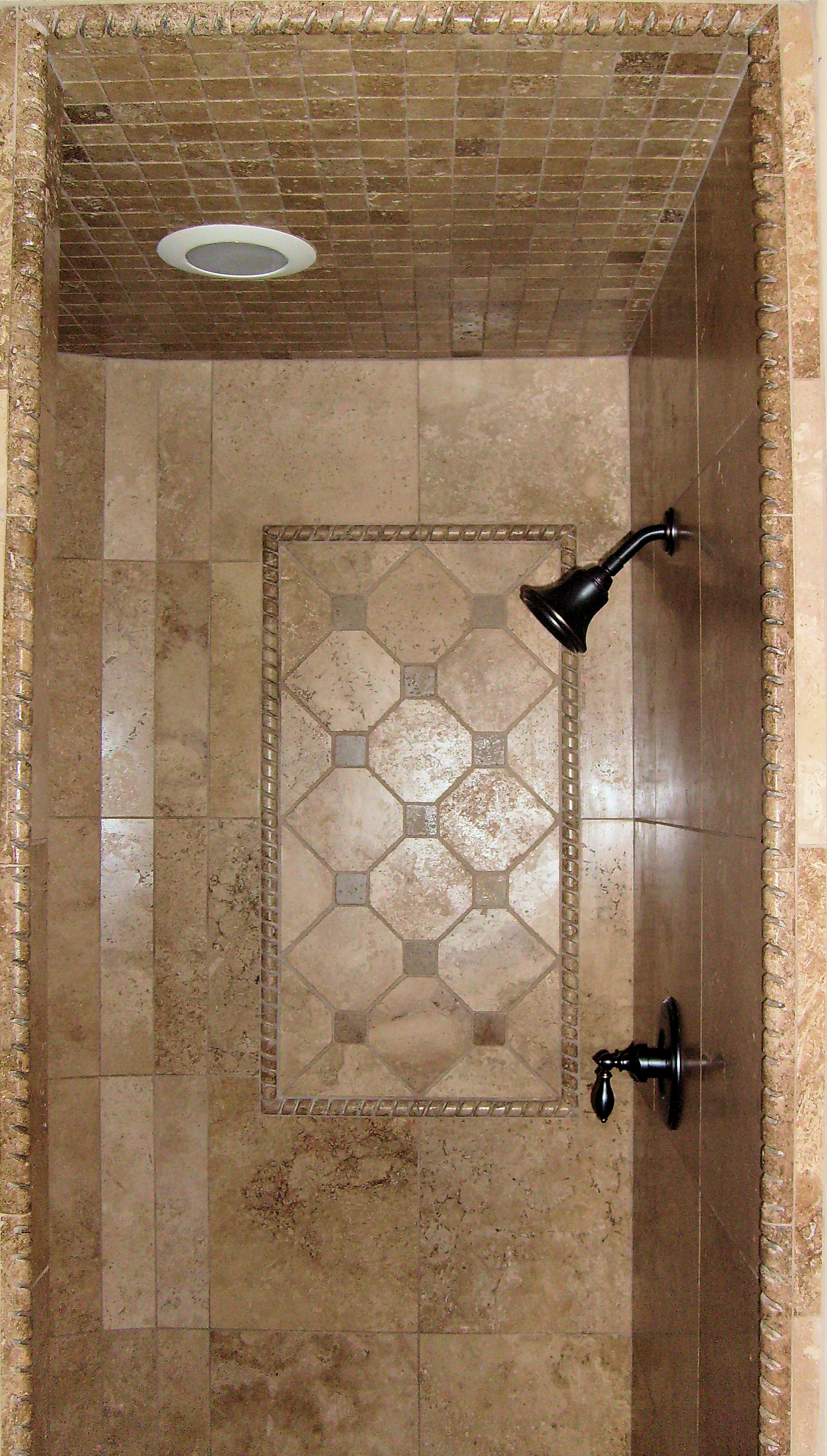Tiling a shower wall casual cottage Tile a shower